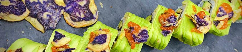Unagi avocado Kimchi