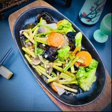 Variété de légumes sauté